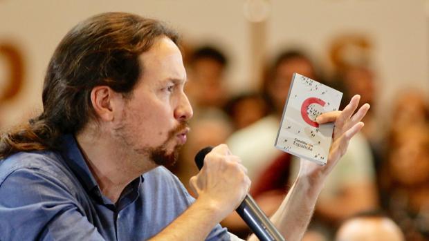 El líder de Podemos y candidato a la presidencia del Gobierno por Unidas Podemos, Pablo Iglesias