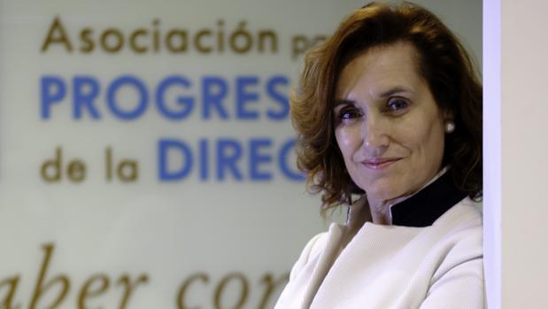 Laura González-Molero, nueva presidente de la APD, posa para ABC