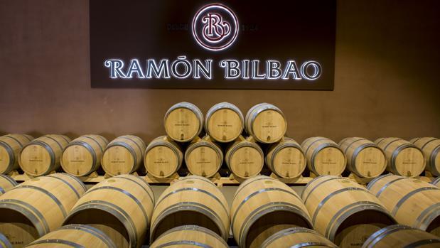 Una de las Bodegas Ramón Bilbao que la compañía posee en España