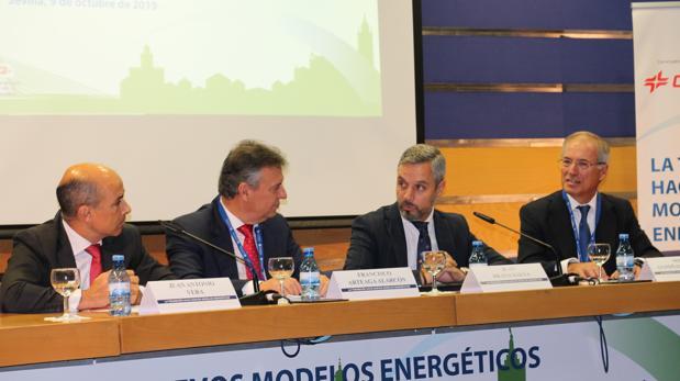 Juan Antonio Vera, Francisco Arteaga, Juan Bravo y Miguel Antoñanzas