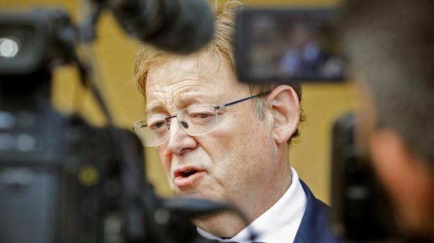 El presidente valenciano Ximo Puig, ayer en Bruselas
