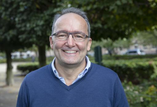 El economista gaditano Juvencio Maeztu entró a trabajar en IKEA hace veinte años como director de la tienda de Madrid
