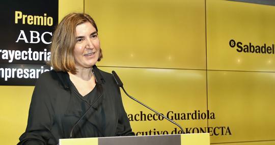 Rocío Blanco, consejera de Empleo de la Junta de Andalucía