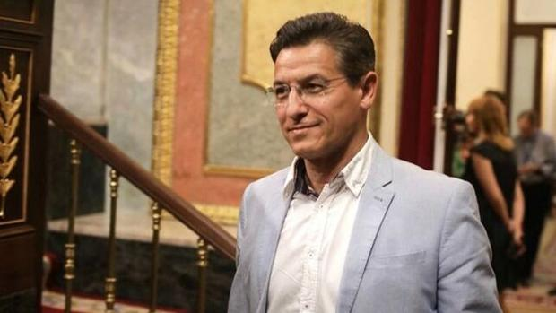 El candidato de Ciudadanos en Granada, Luis Salvador