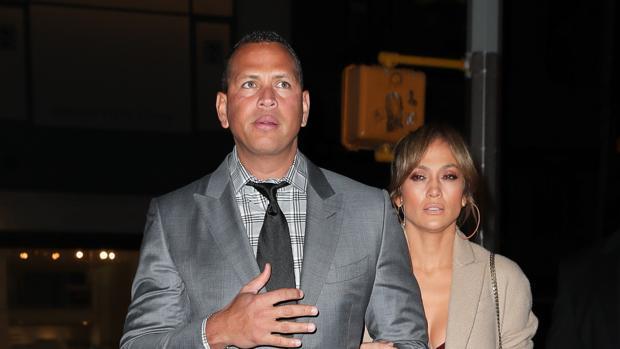 Jennifer Lopez y Alex Rodríguez por las calles de Nueva York