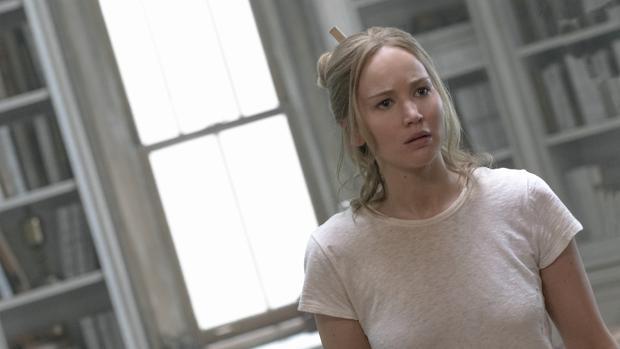 Jennifer Lawrence en una escena de «¡Madre!»