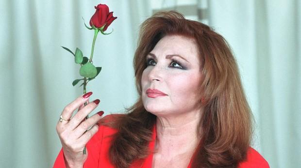 La cantante, Rocío Jurado