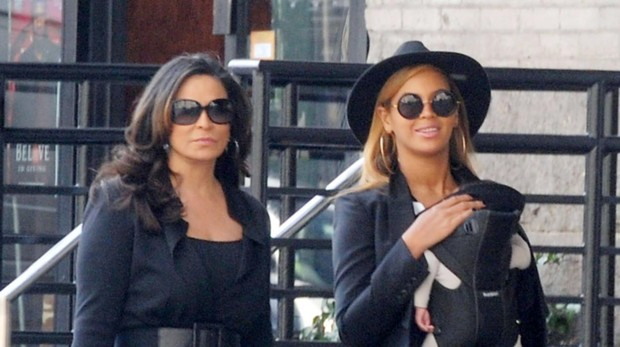 Beyonce y Tina Knowles