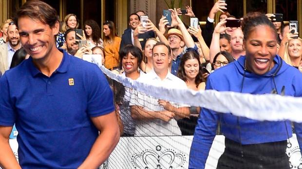 Rafa Nadal y Serena Williams