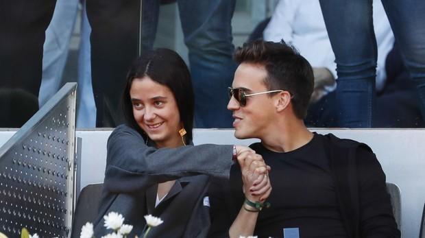 Victoria Federica y Gonzalo Caballero en el Mutua Madrid Open