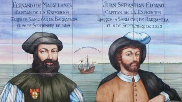 El portugués Fernando de Magallanes y el español Juan Sebastián Elcano llevaron a cabo la primera Circunnavegación de la historia , considerada una hazaña naval, técnica y humana. Partieron de Sevilla el 10 de agosto de 1519 y regresaron el 8 de septiembre de 1522