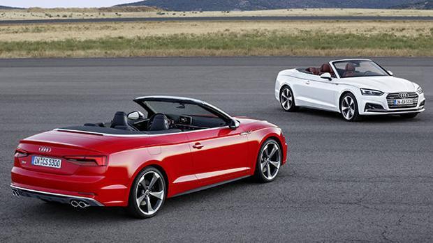 Nuevos Audi A5 y S5 Cabriolet