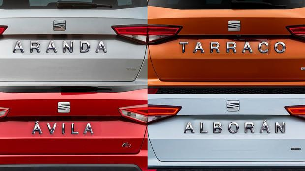 El nuevo modelo de Seat se llamará Aranda, Tarraco, Ávila o Alborán