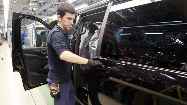 Fábrica de Mercedes Benz en Vitoria