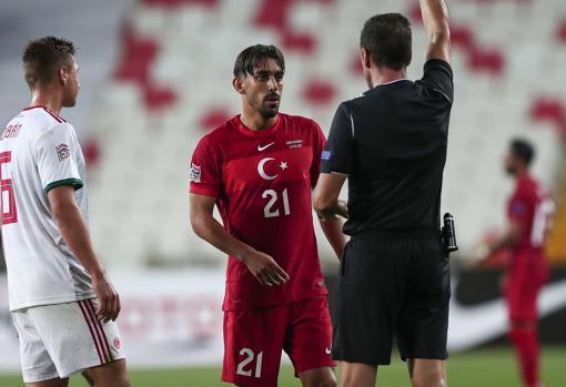 Can Kahveci, avec l'équipe nationale turque