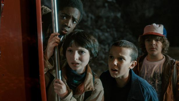 Escena de «Stranger Things»