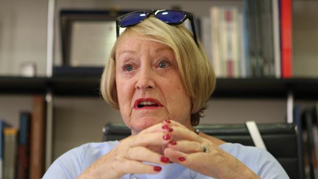 Yvonne Blake, presidenta de la Academia de Cine, durante una entrevista con ABC este verano