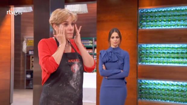 Anabel Alonso no presentó ningún plato en la prueba final