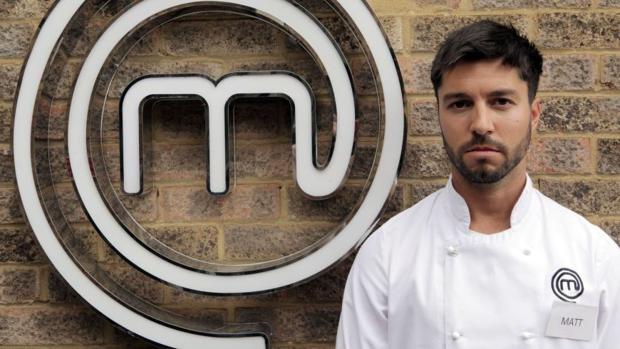 Matt Campbell fue finalista de la edición británica de «Masterchef» el pasado año