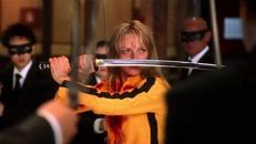 Uma Thurman en «Kill Bill»