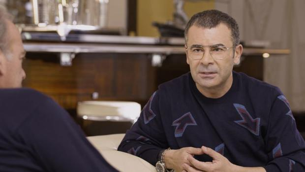 Jorge Javier Vázquez durante su entrevista en «Mi casa es la tuya»