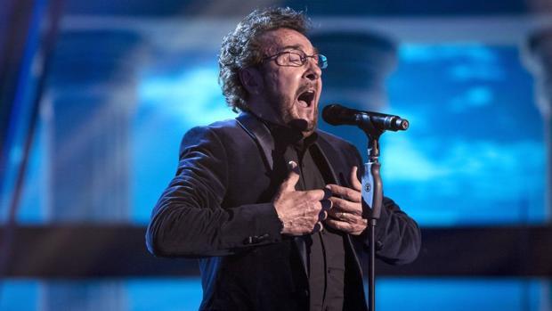 Nacho Encinas, uno de los finalistas de «La Voz Senior»