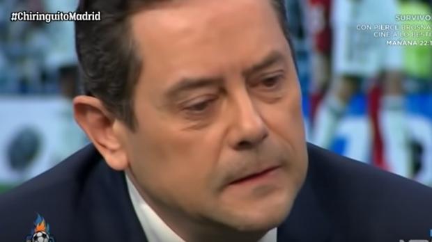 Tomás Roncero, en «El chiringuito»