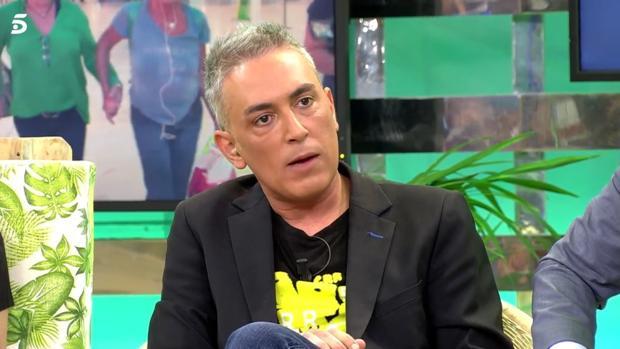 Kiko Hernández, en «Sálvame»