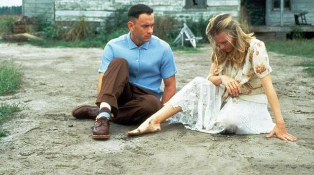 Imagen de Robin Wright y Tom Hanks en «Forrest Gump»