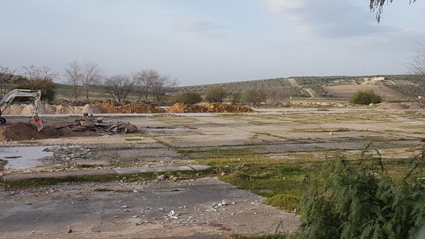 Terrenos donde estaba ubicada la fábrica de Semillas Pacífico, junto a la Vereda de Sevilla