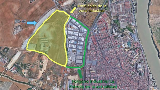 El polígono industrial La Estrella se verá ampliado tras aprobarse en el pleno del Ayuntamiento de Coria