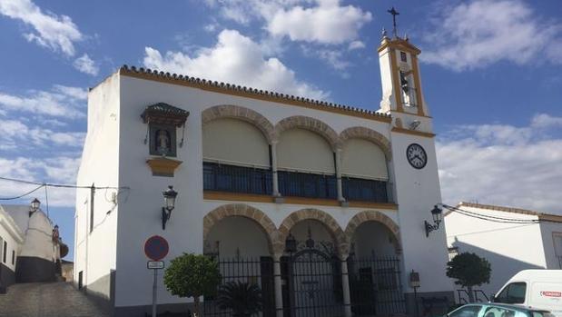 Fachada principal del Ayuntamiento de Gerena