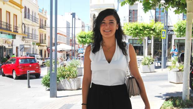 María Luisa es una de las registradoras más jóvenes de España y la primera de su ciudad, Alcalá de Guadaíra