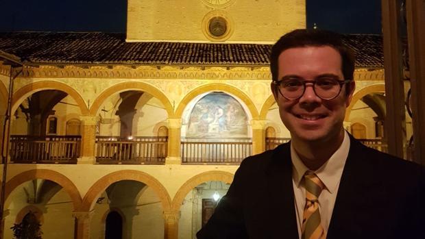 El utrerano Valentín Navarro se encuentra en la ciudad italiana de Bolonia estudiando el doctorado