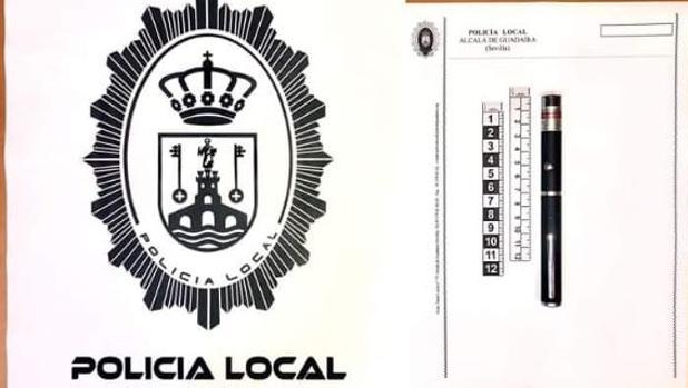 La Policía Local de Alcalá evita que unos jóvenes provocaran accidentes deslumbrando a vehículos