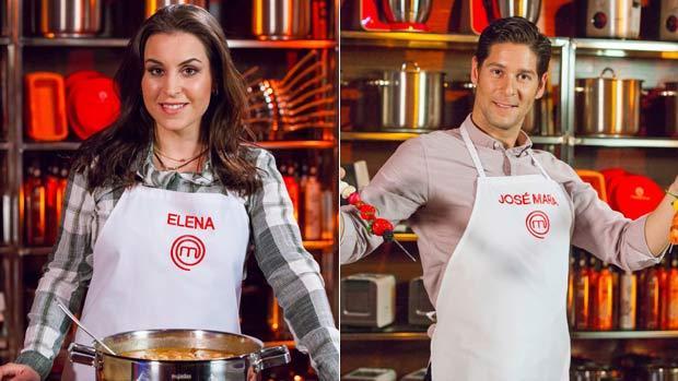 La sevillana Elena y el jerezano José María, concursantes de «Masterchef»