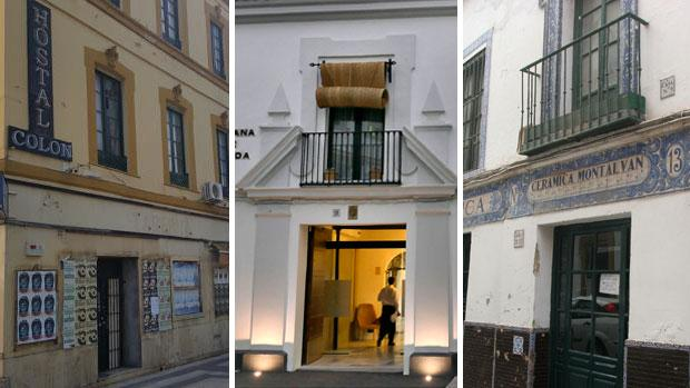 Antiguos edificios de varias zonas de Sevilla se han remodelado para ampliar la oferta hotelera de la ciudad