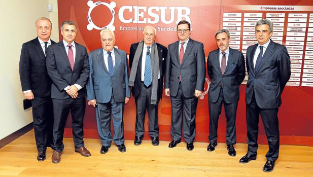 El encuentro se celebró ayer en la Fundación Cajasol