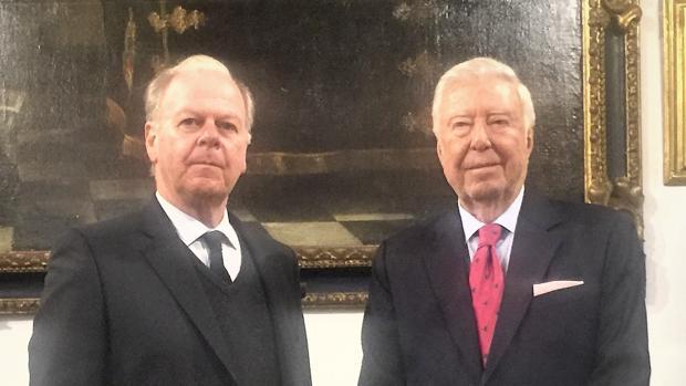 Eduardo Ybarra Mencos y José Luis García Palacios