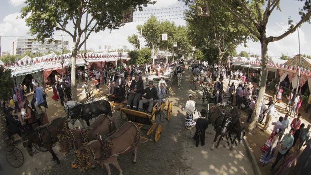 Ambiente del Real de la Feria