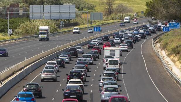 Retenciones de vehículos en la autovía A-49