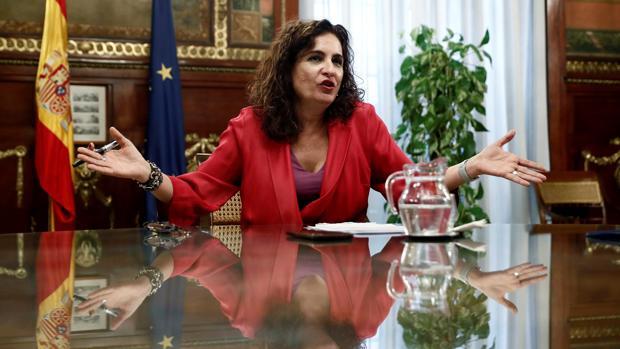 María Jesús Montero, actual ministra de Hacienda y exconsejera del mismo ramo en la Junta