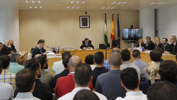 Juicio por el caso de las oposiciones a la Policía Local