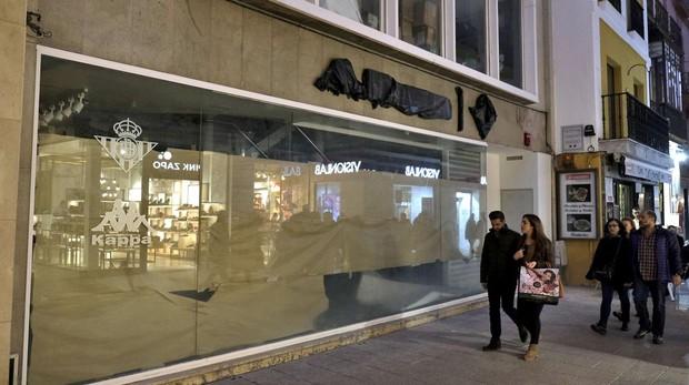 4572e8f7c El Real Betis inaugura este lunes una tienda oficial de cinco plantas en la calle  Sierpes