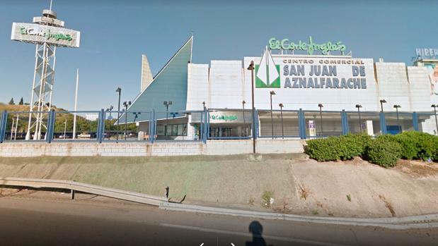 Centro comercial El Corte Inglés donde está el puesto que ha vendido el cupón