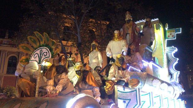 Cabalgata de Reyes Magos de Sevilla 2018