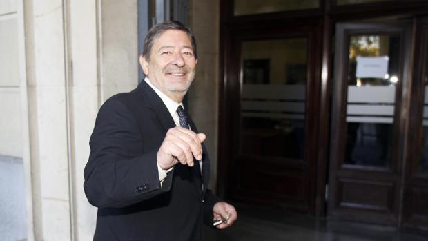 Francisco Javier Guerrero llega a la Audiencia para el juicio de Umax
