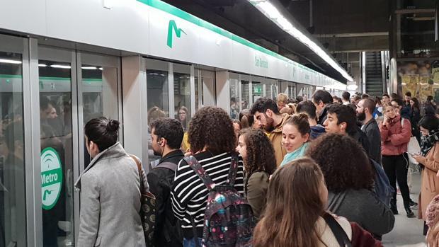 Servicios mínimos del Metro de Sevilla