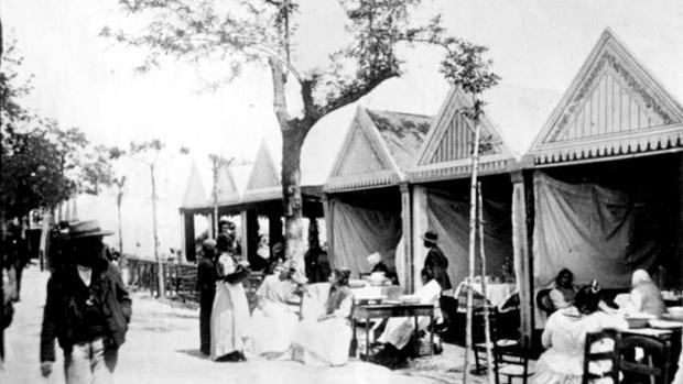 La primera Feria de Abril se celebró en 1847 con 19 casetas