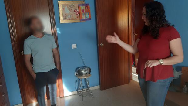 Casa en la que se registraron casos paranormales en la barriada de Palmete de Sevilla